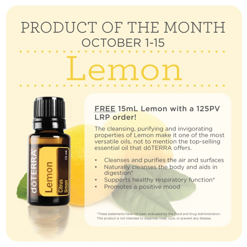 doterra product of the month october
