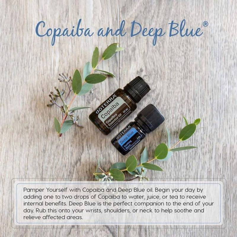 copaiba and deep blue