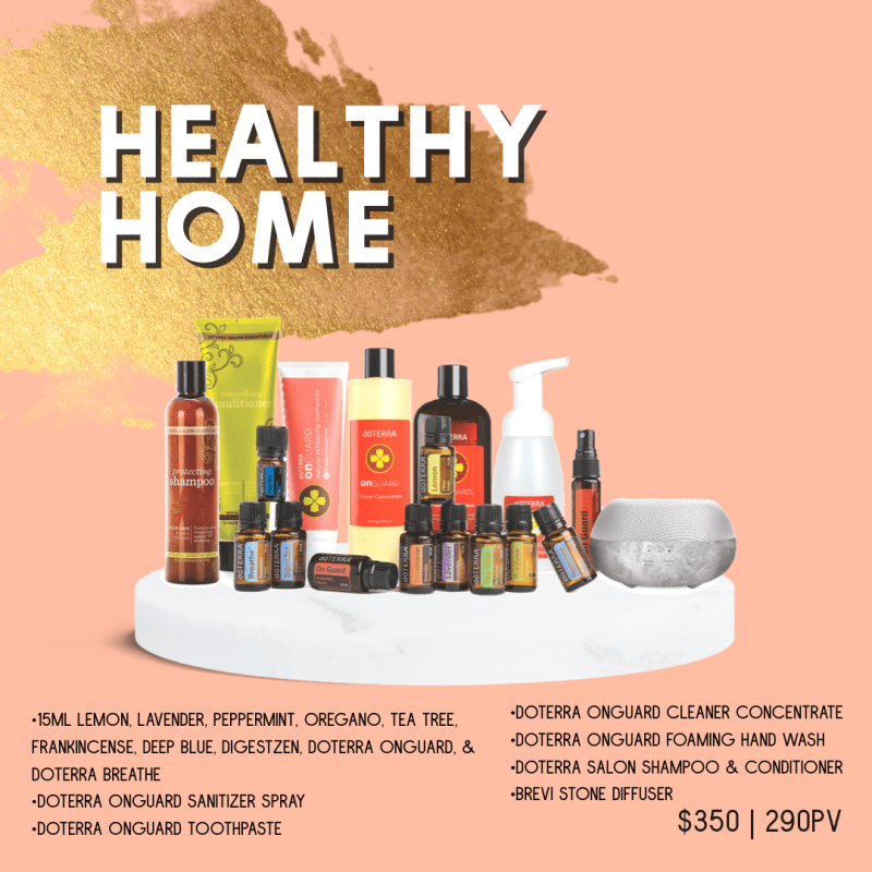 doterra healthy home kit