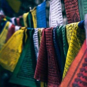 Banderas Tibetanas de Oración.