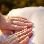 Hands on Reiki treatment