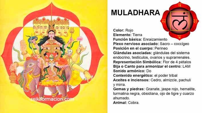 Chakra 1 – Muladhara
