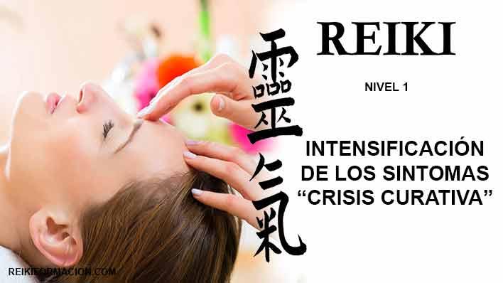 """Intensificación de los síntomas – """"crisis curativa"""""""