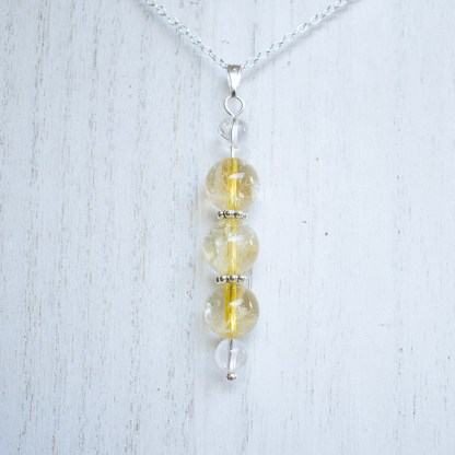 reiki charged citrine bead