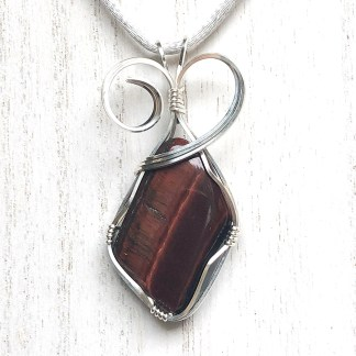 reiki charged red tigers eye