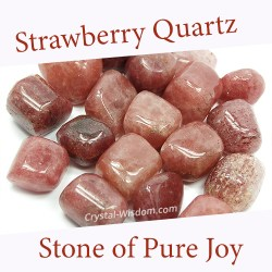 strawberry quartz spiritual