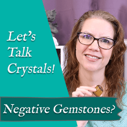 negative gemstones