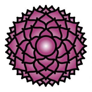 El símbolo del Chakra de corona