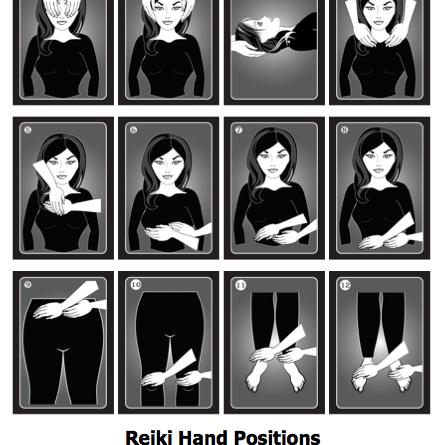 Reiki Posición de las Manos - la Curación de Otros