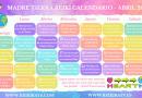 Madre Tierra Reiki Calendario Abril 2019