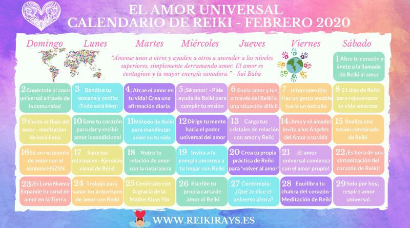 El-Amor-Universal-Calendario-de-Reiki-Febrero-2020