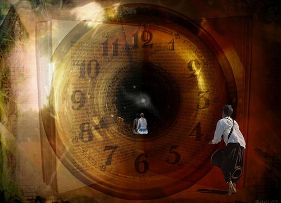 Trabajando con Reiki a través del tiempo y el espacio
