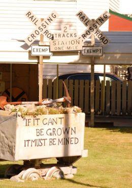 Mine Signs, Wallace, ID ©Rose De Dan www.reikishamanic.com