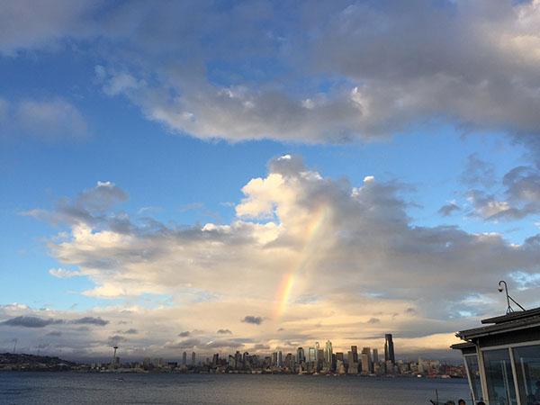 Cougar Rainbow End, ©2015 Stacey Doyne, www.reikishamanic.com