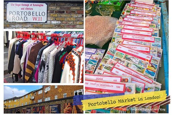 [倫敦] 多個願望一次滿足,心中第一名的厲害市集—Portobello Market