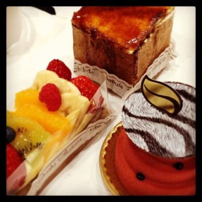 amazing(*´艸`*)♡supper!!yummy!! ありがとう!#chezshibata #cake #patisserie #sweets #chocolatier #yumyum