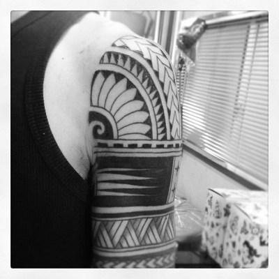 #inprogress #tribal #tattoo #タトゥー #トライバル