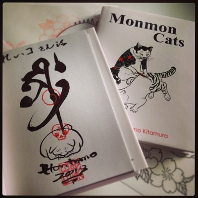 #momoncat #horitomo #book #tattoo #irezumi Great!!! Thanks, @horitomo_stateofgrace