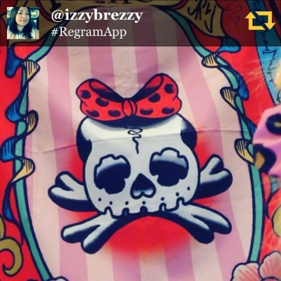 She is so cute!!! Thanks, @izzybrezzy RG @izzybrezzy: Getting tattooed #bayareatattooconvention @reikotattoo  #regramapp