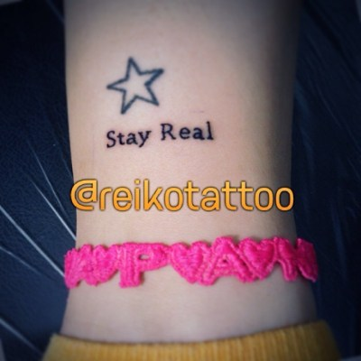 #StayReal #tattoo