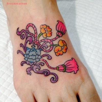 #flower #tassel #tattoo #タッセル #花 #タトゥー