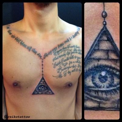 #Eye #Providence #tattoo #目 #プロヴィデンス #タトゥー