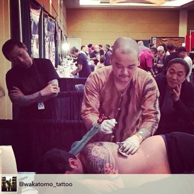 #グッドルッキングガイズ Part2@myztat @horinao1 @yokohamahoriken regram from @wakatomo_tattoo