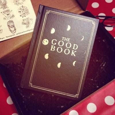 (pq´v`*)〜♪Thanks! Afabulouspackage arrived︎#TheGoodBook @capturedtattoo @dansmithism