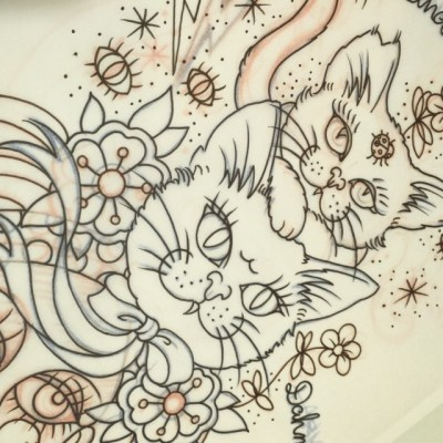 #sketch #drawing #pet #tattoo #design #reikotattoo #studiokeen #名古屋 #大須 #矢場町