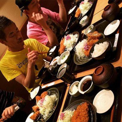 味噌カツ祭り〜️ ワッショーイ