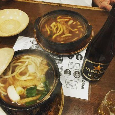初「すまし」️ #味噌煮込み #山本屋