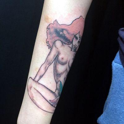#宇野亜喜良さん #タトゥー #unoakira #aquirax #tattoo #reikotattoo #studiokeen #japan #nagoyatattoo #tokyotattoo #名古屋 #大須 #矢場町 #東京 #静岡reikotattoo.com