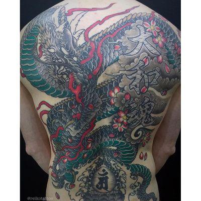 #龍 #刺青 #タトゥー #dragon #irezumi #tattoo #reikotattoo #studiokeen #japan #nagoyatattoo #tokyotattoo #名古屋 #東京 #静岡 #矢場町 #大須
