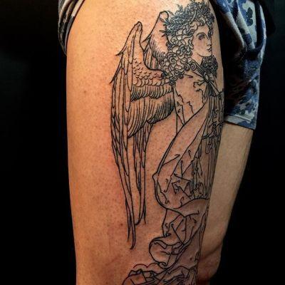 #大天使ガブリエル #archangel #gabriel ... #タトゥー #tattoo #reikotattoo #studiokeen #japan #nagoyatattoo #tokyotattoo #irezumi #刺青 #名古屋 #大須 #矢場町 #東京 #静岡 #hocuspocustattoo #shizuokatattoo