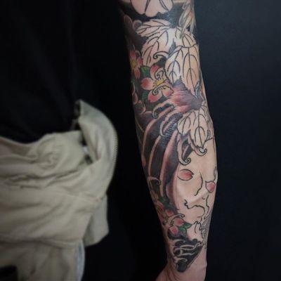 #額彫り #wip #japanesetattoo. . . . .  #tattoo #reikotattoo #studiokeen #japan #nagoyatattoo #tokyotattoo #irezumi #タトゥー #刺青 #名古屋 #大須 #矢場町 #東京 #静岡 #hocuspocustattoo #shizuokatattoo