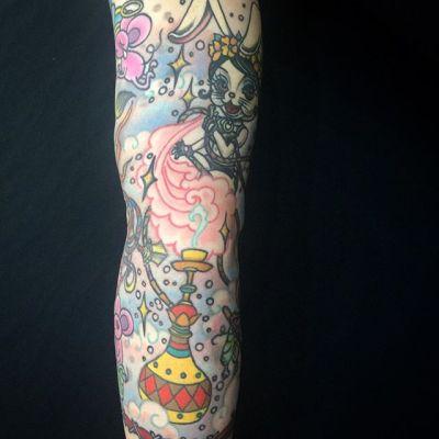 #ウサギ #水パイプ #bunny #hookah ...#タトゥー #tattoo #reikotattoo #studiokeen #nagoyatattoo #tokyotattoo #名古屋 #大須 #矢場町 #東京 #静岡