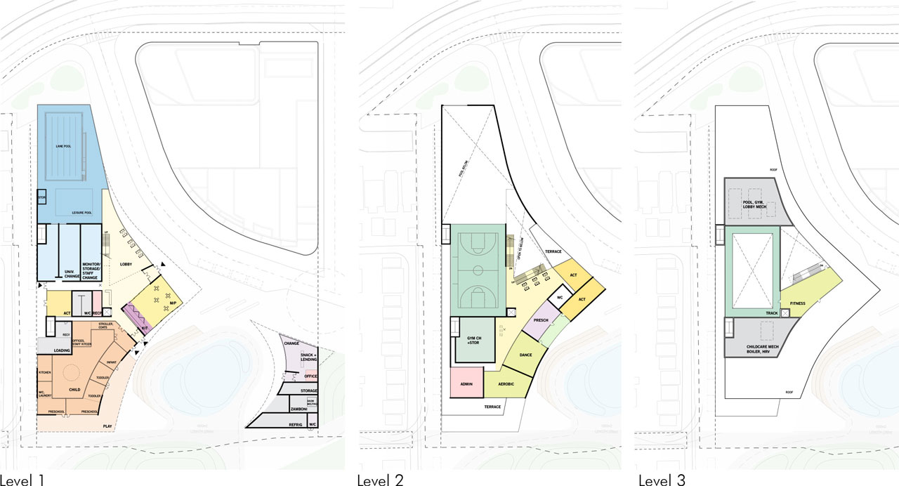 Community Centre Floorplans