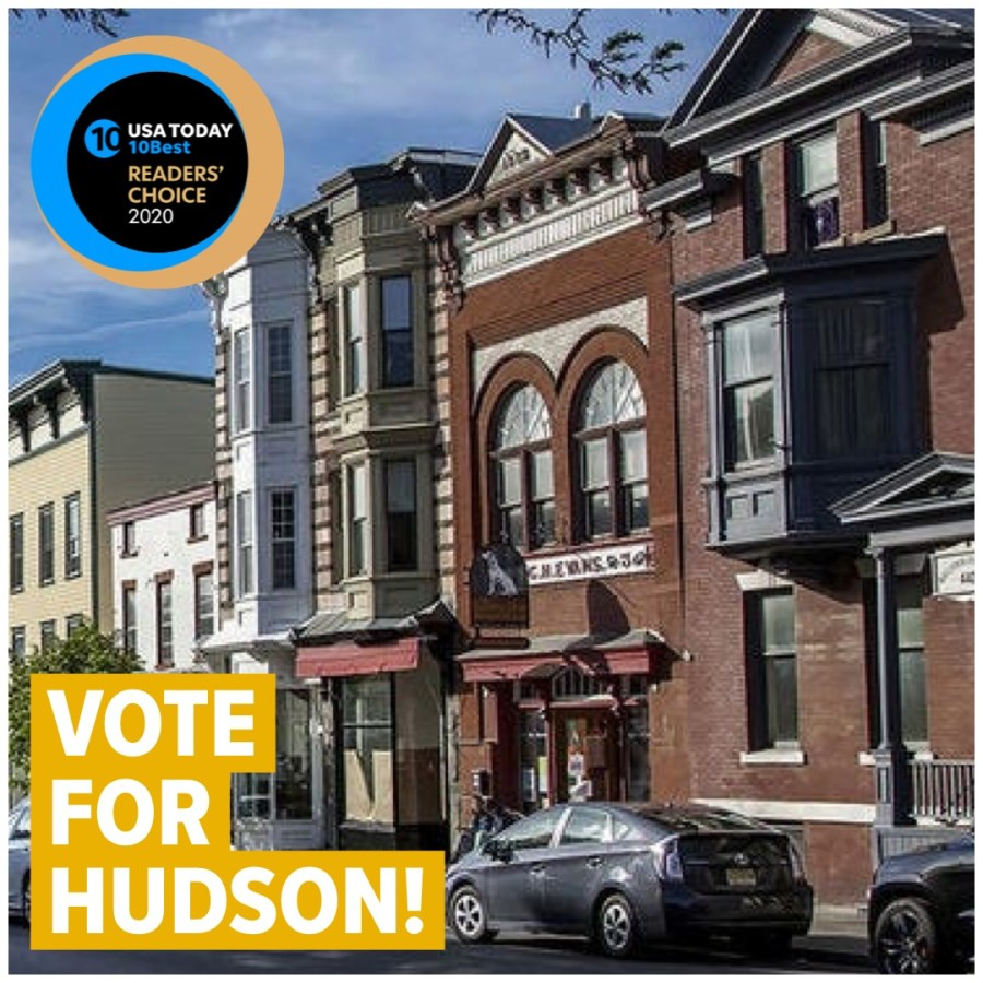 Vote for Hudson— USA Today 10 Best