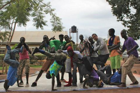 Breakdance Project Uganda (Gulu, Northern Uganda)© Jarrel Phillips