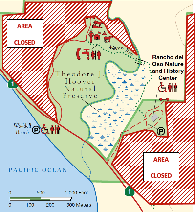 Map of areas open for visiting as of May 2021