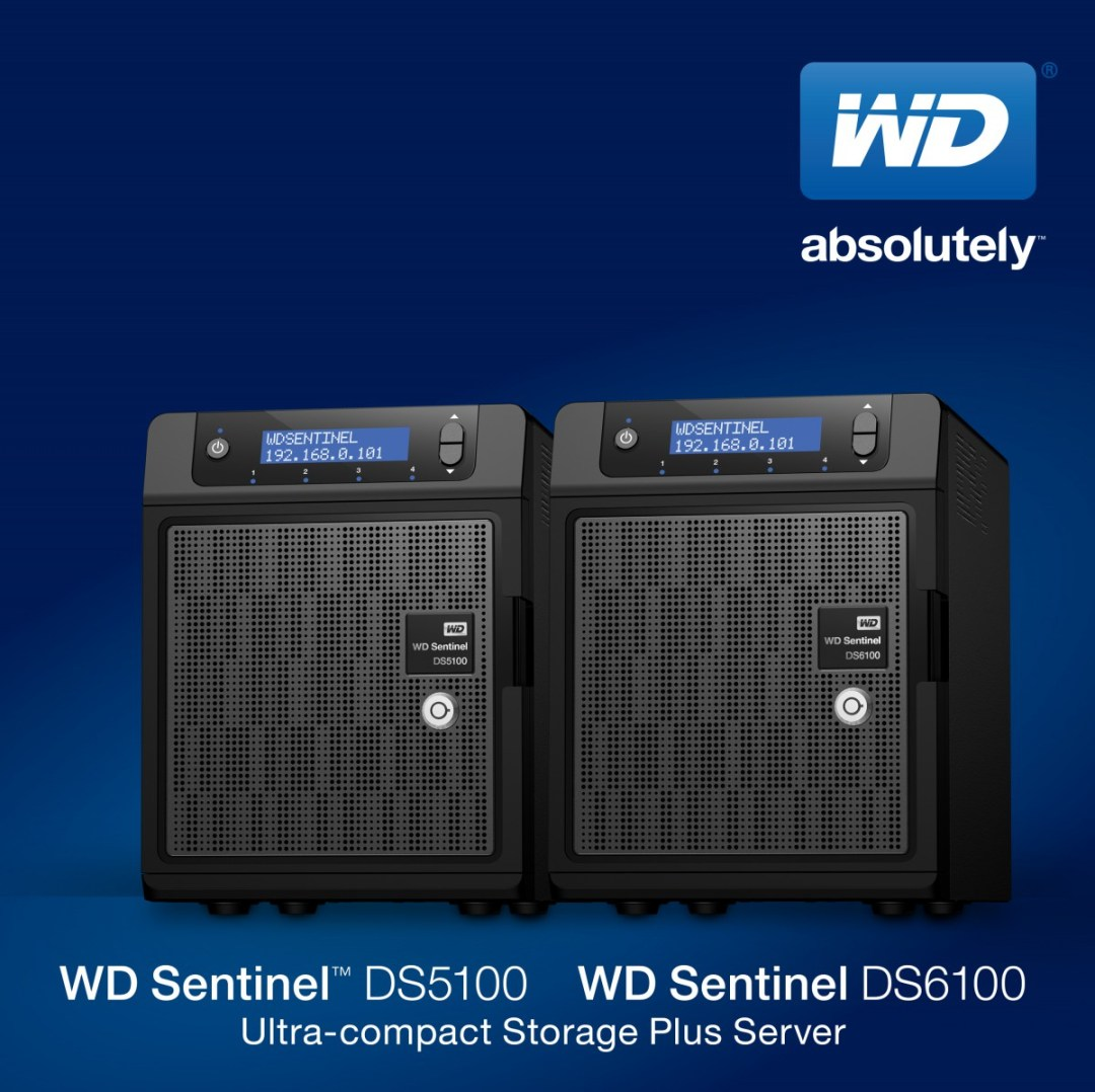 WD Sentinel DS 5100 and 6100_PRN