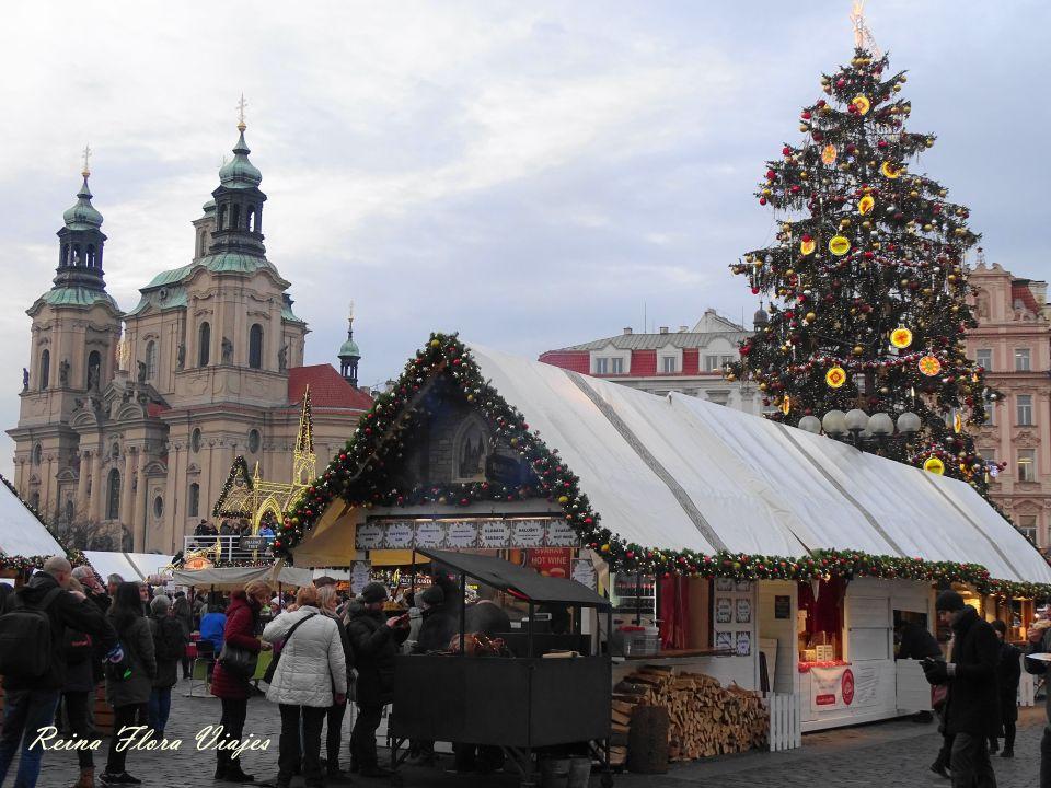 Mercadillo Plaza de la Ciudad Vieja (1) de Praga
