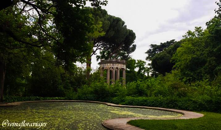 Parque el Capricho de Madrid en la Alameda de Osuna
