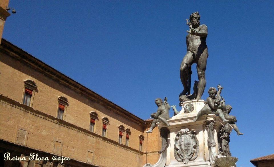Plaza de Neptuno en Bolonia