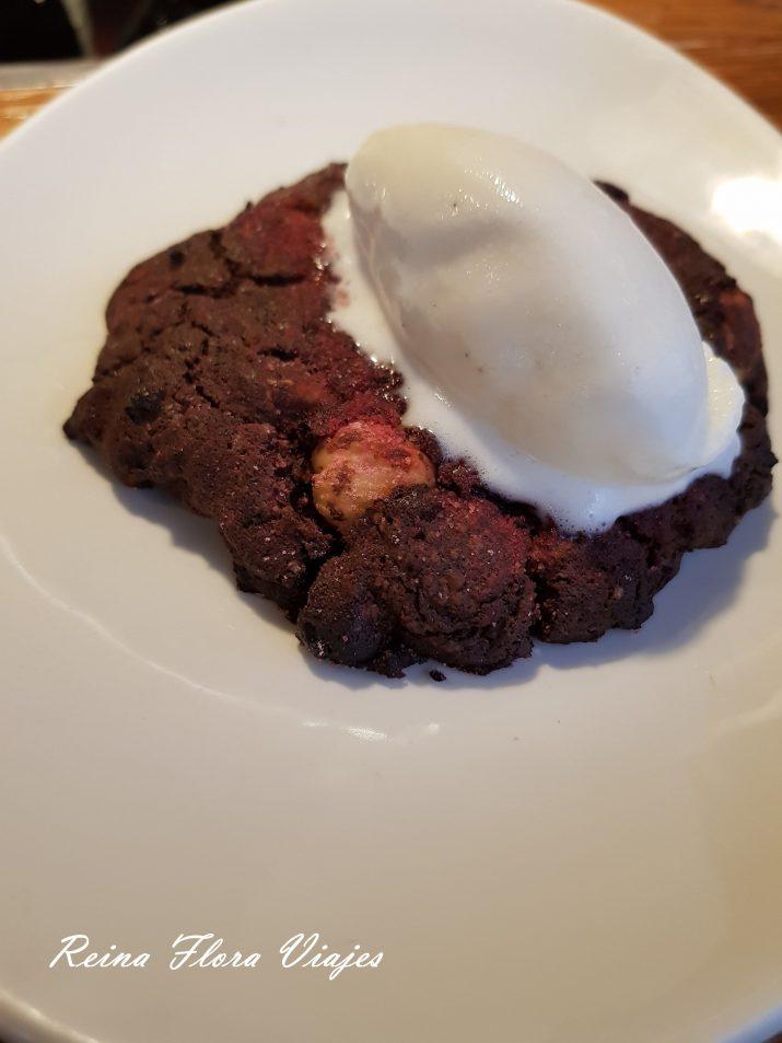 Cookie dos chocolates restaurante Yakitoro