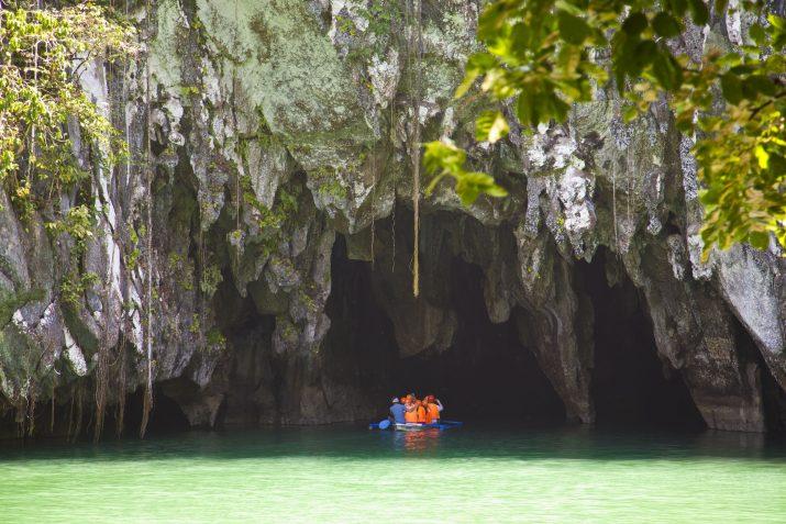 Viajar a Filipinas y descubrir el río subterráneo