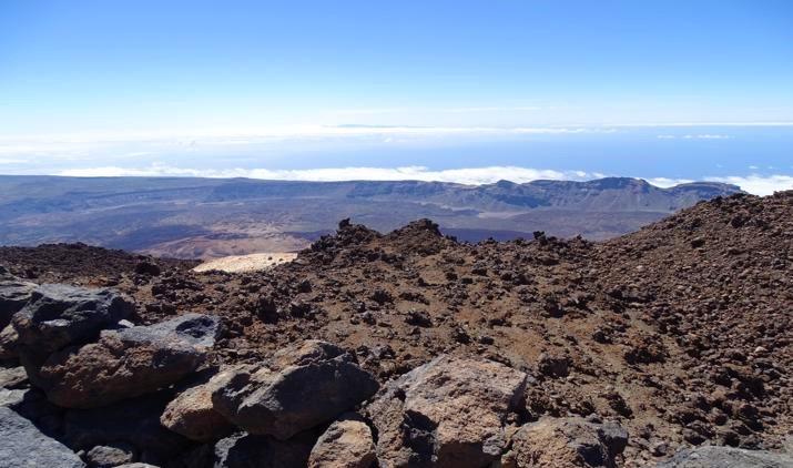 Volcán Teide en la isla de Tenerife