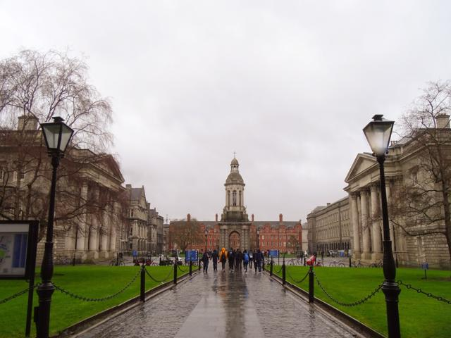 Universidad Trinity college la primera universidad de Irlanda