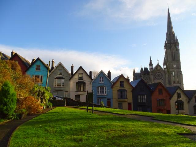 Cobh en el condado de Cork irlanda del sur