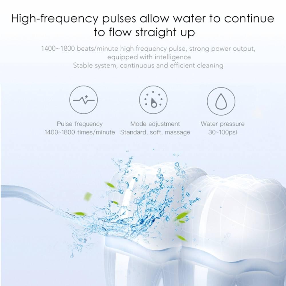 Nicefeel Dental flosser New 3 Modes خيط الاسنان المائي نايس فيل 3 سرعات